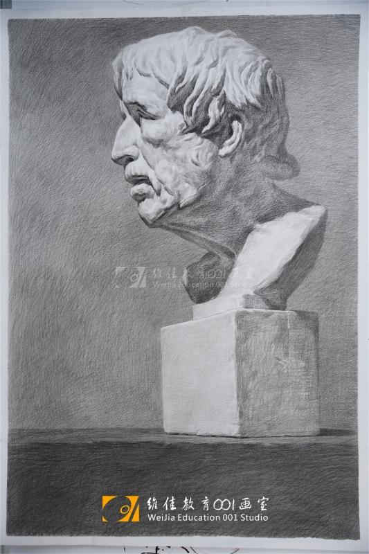 武汉画室|素描石膏像