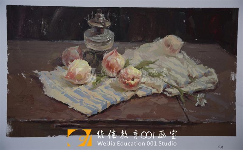 武汉画室|色彩作品